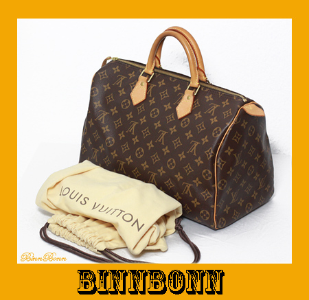 original louis vuitton tasche henkeltasche speedy 35 m41524 monogram canvas top. Black Bedroom Furniture Sets. Home Design Ideas